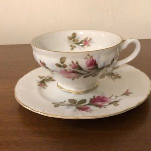 Other - Royal Rose Fine China Japan Tea Cup with Saucer